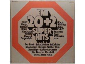 LP Various – 20 + 2 EMI Superhits, 1976