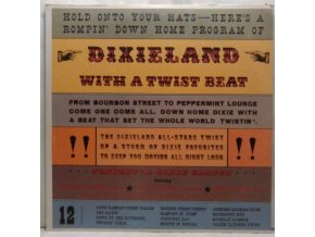 LP The Dixie All-Stars ‎– Dixieland With A Twist Beat, 1962