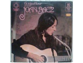 LP Joan Baez - Golden Hour Presents Joan Baez, 1976