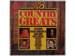LP Various ‎– 20 Country Greats, 1974