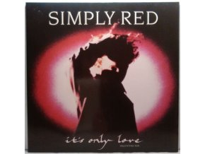 Simply Red ‎– It's Only Love (Valentine Mix) 1989