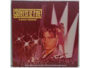 LP Various ‎– Streets Of Fire - Music From The Original Motion Picture Soundtrack, 1984