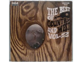 LP Various ‎– The Best Of Country And West - Vol. 2, 1968