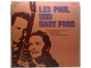 LP Les Paul & Mary Ford ‎– Les Paul Und Mary Ford, 1977