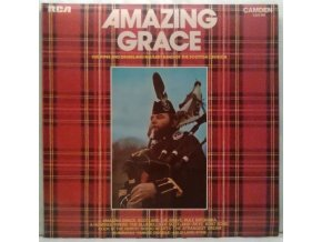 LP The Pipes And Drums And Military Band Of The Scottish Division ‎– Amazing Grace, 1973