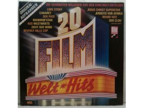 2LP Various ‎– 20 Film Welthits, 1986