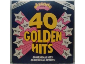2LP Various - 40 Golden Hits, 1974