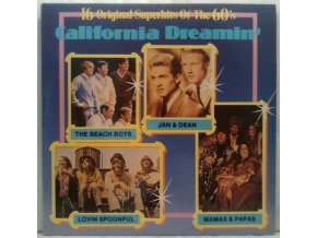 LP Various ‎– California Dreamin' - 16 Original Superhits Of The 60's, 1990
