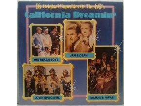 LP Various – California Dreamin' - 16 Original Superhits Of The 60's, 1990