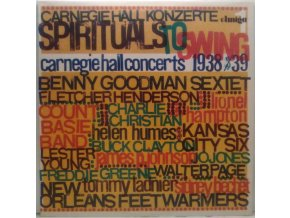 LP Various - Spirituals To Swing - Carnegie Hall Concerts 1938/39 (I)
