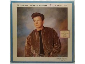 Rick Astley ‎– She Wants To Dance With Me, 1988