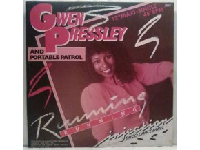Gwen Pressley And Portable Patrol ‎– Running, 1984
