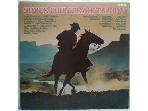 LP Various ‎– Super Country Hits Vol.1, 1979