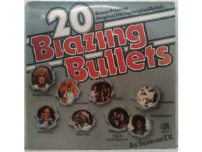 LP Various ‎–  20 Blazing Bullets, 1975