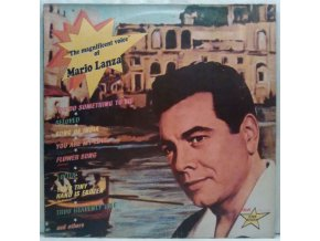 LP  Mario Lanza ‎– The Magnificent Voice Of Mario Lanza