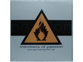 Members Of Passion ‎– You Got Me Burnin' Up, 1998