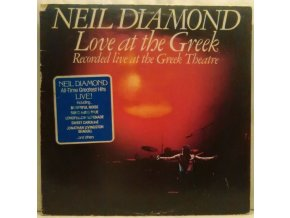 2LP Neil Diamond ‎– Love At The Greek - Recorded Live At The Greek Theatre, 1977