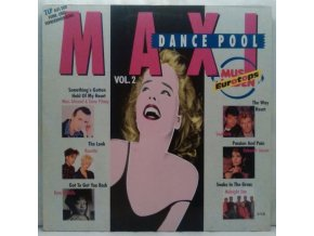 2LP Various – Maxi Dance Pool Vol. 2 - Musikladen Eurotops, 1989