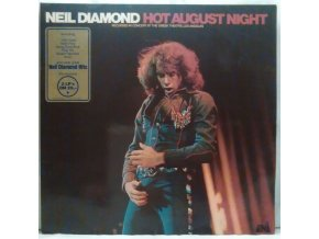 2LP Neil Diamond - Hot August Night, 1972