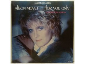 Alison Moyet ‎– For You Only (Extended New Version) 1985