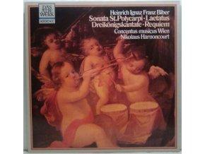 LP Heinrich Ignaz Franz Biber -  Sonata St. Polycarp • Laetatus • Epiphany Cantata • Requiem
