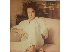LP Neil Diamond ‎– 12 Greatest Hits, Vol. II, 1982