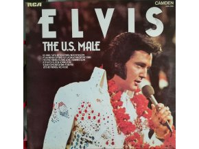 LP Elvis Presley - The U.S. Male, 1975