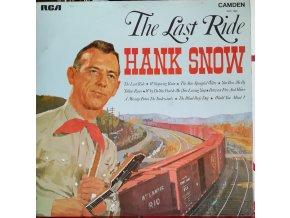 LP Hank Snow - The Last Ride, 1969