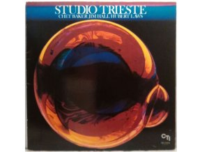 LP Chet Baker / Jim Hall / Hubert Laws ‎– Studio Trieste, 1982