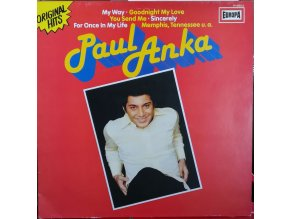 LP Paul Anka - Original Hits