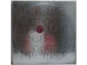 LP Horowitz - Beethoven/Schubert - Moonlight Sonata / Impromptus, 1973
