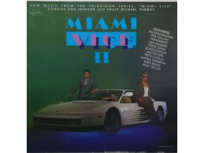 Various ‎– Miami Vice II (Music From The Television Series) 1986