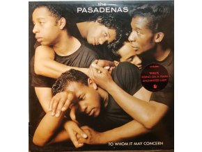 LP The Pasadenas - To Whom It May Concern, 1988