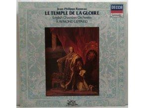 LP Jean-Philippe Rameau - Raymond Leppard - English Chamber Orchestra - Le Temple De La Glorie - Suites 1 & 2, 1982