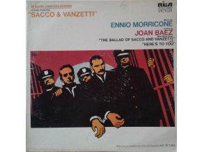 LP Ennio Morricone - Sacco & Vanzetti (Original Soundtrack) 1972