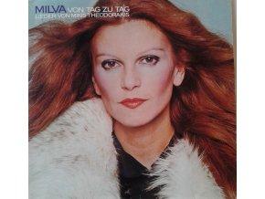 LP Milva - Von Tag Zu Tag Lieder Von Mikis Theodorakis, 1978
