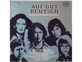 LP Various - Auf Gut Deutsch - Das Beste Aus Der Deutschen Schlagerszene, 1981