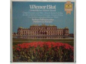 LP Johan Strauß – Berliner Philharmoniker, Herbert von Karajan – Wiener Blut (Unsterblicher Johann Strauß)