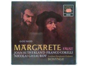 LP Gounod - Joan Sutherland / Franco Corelli / Nicolai Ghiaurov / Londoner Symphonie-Orchester, Bonynge – Margarete (Faust) - Arien Und Szenen