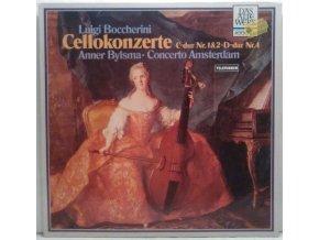 LP Luigi Boccherini, Anner Bylsma - Cellokonzerte C-dur Nr. 1&2 - D-dur Nr. 4, 1981