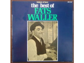 LP Fats Waller - The Best Of History Of Jazz, 1971
