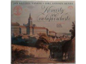 LP Jan Baptist Vaňhal, Jiří Antonín Benda - Koncerty Pro Violu A Orchestr, 1979
