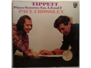 LP Tippett - Paul Crossley ‎– Piano Sonatas Nos. 1, 2 And 3, 1973