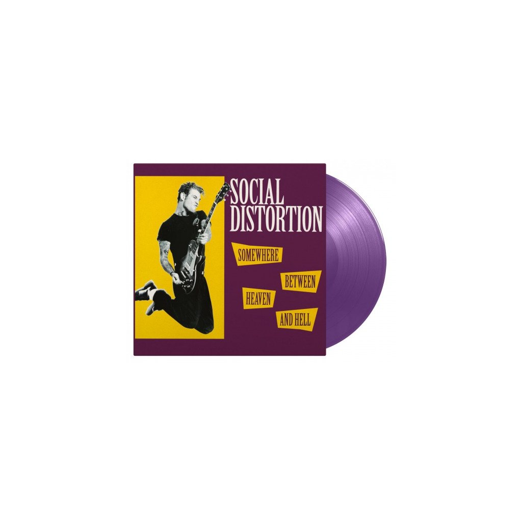 VINYLO.SK | SOCIAL DISTORTION - SOMEWHERE BETWEEN HEAVEN AND HELL [LP] 180g AUDIOPHILE PRESSING
