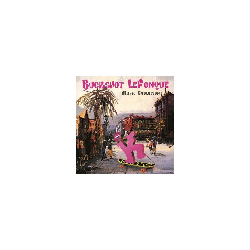 VINYLO.SK | BUCKSHOT LEFONQUE - MUSIC EVOLUTION (LP)180 GRAM AUDIOPHILE VINYL