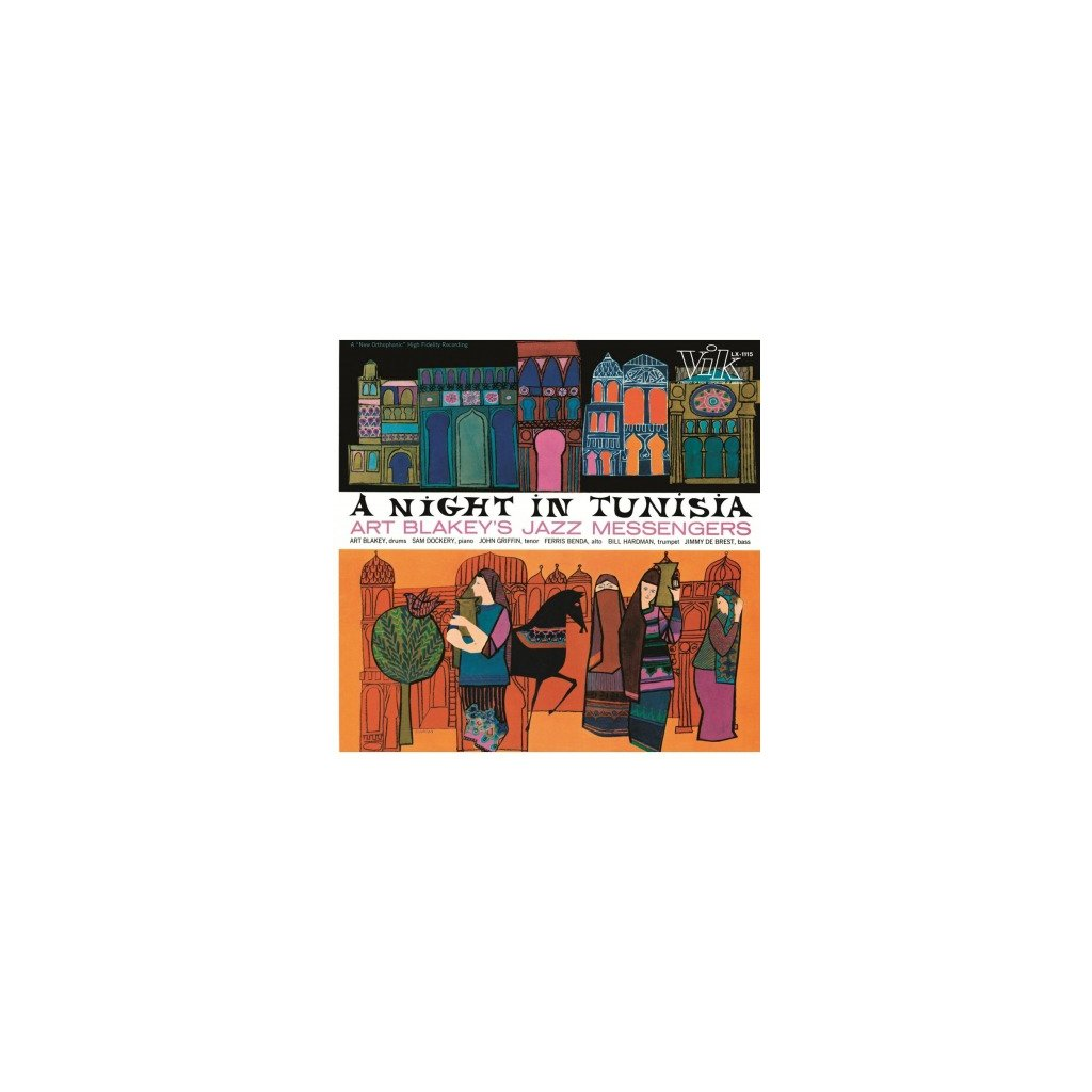 VINYLO.SK | BLAKEY, ART & JAZZ MESSEN - A NIGHT IN TUNISIA (LP)180GR. AUDIOPHILE VINYL