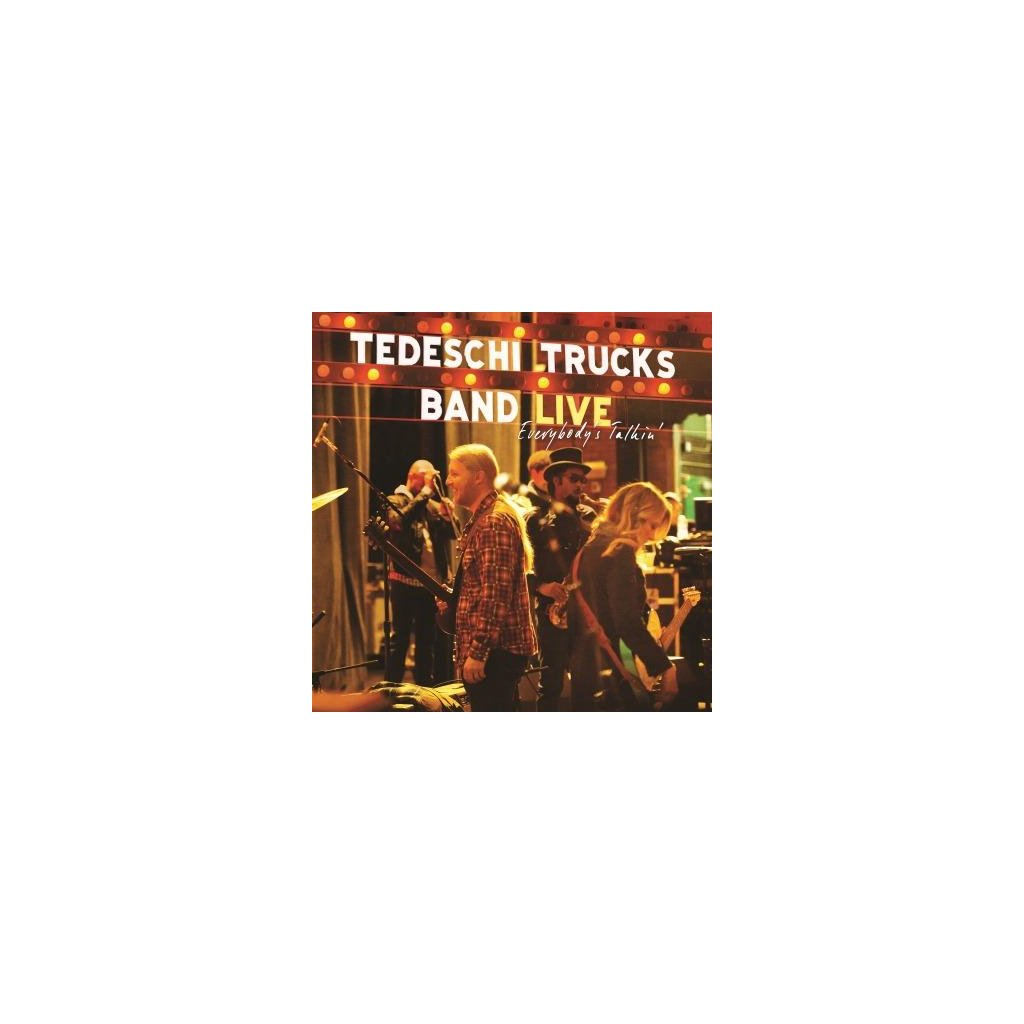 VINYLO.SK | TEDESCHI TRUCKS BAND - EVERYBODY'S TALKIN' [3LP] 180g VINYL / 3-PANEL GATEFOLD SLEEVE 3LP SET