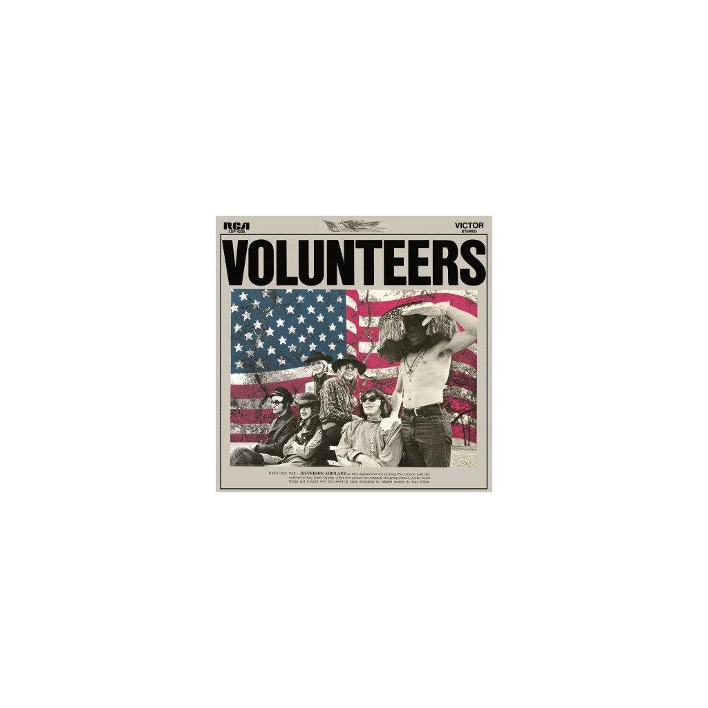 VINYLO.SK | JEFFERSON AIRPLANE - VOLUNTEERS (LP)180GR. / INCL. 4PG. INSERT