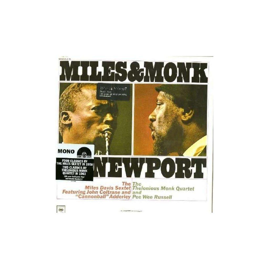 VINYLO.SK | Davis Miles ♫ Miles & Monk At Newport [LP] Vinyl 8718469534524