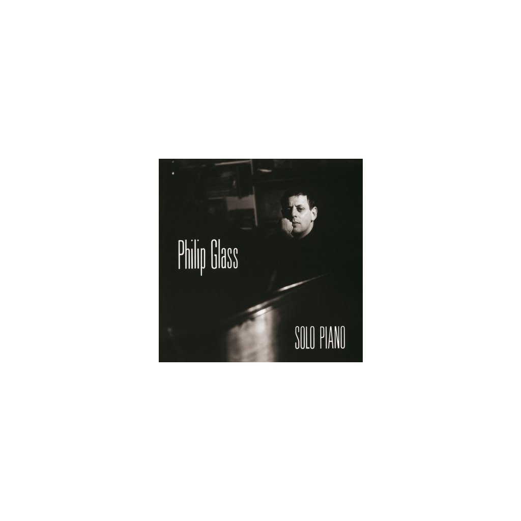 VINYLO.SK | GLASS, PHILIP - SOLO PIANO (LP)180GR. AUDIOPHILE VINYL / DELUXE PVC SLEEVE